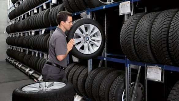 BMW Reifeneinlagerung
