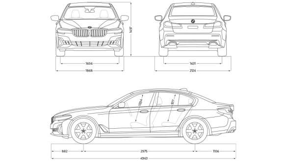 Technische Daten BMW 5er Limousine