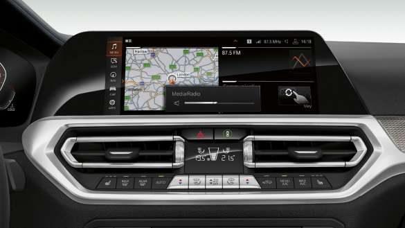 BMW 3er Limousine BMW Live Cockpit Professional