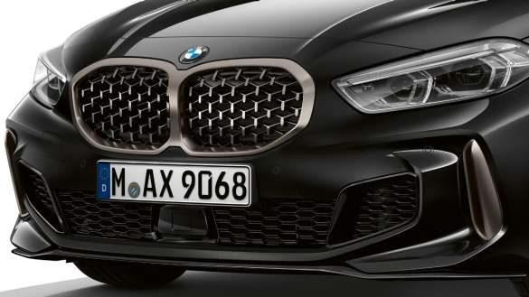 BMW M135i xDrive Niere im Mesh-Design