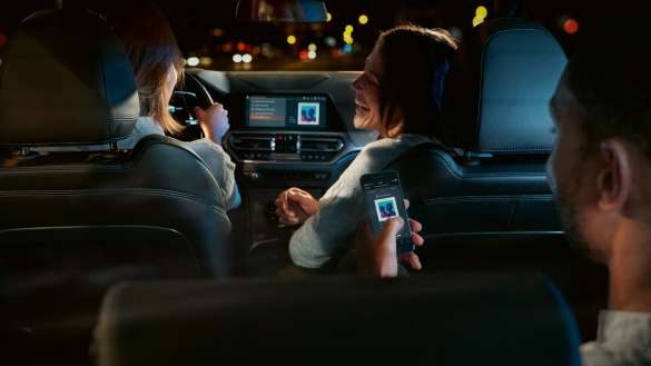 BMW 3er Limousine Connected Command