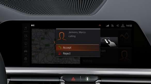 BMW M440i xDrive Cabrio Operating System